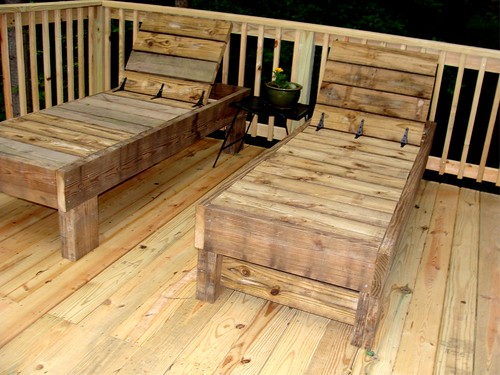 Ana White Simple Modern Outdoor Double Lounger Diy Projects