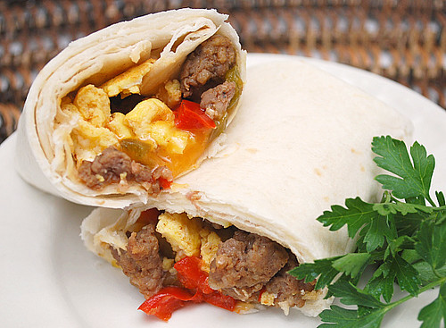 Southwestern Breakfast Burritos (Freezer Friendly)