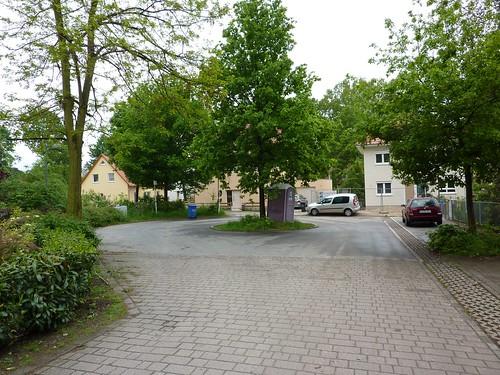 Exclave Steinstücken