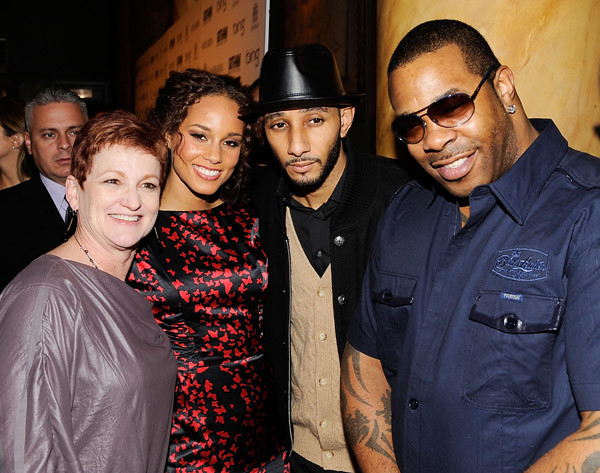 alicias-mom-alicia-keys-swizz-beatz-and-busta-rhymes by Off da Dome