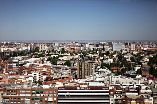 Madrid desde las oficinas de Google