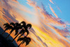 Coco-Quartet (michaeljosh) Tags: trees sunset coconut palm subic nikkor50mmf14d project365 nikond90 michaeljosh cocoquartet