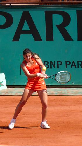 Sorana Cirstea - Sorana Cirstea - 1er tour de Roland Garros 2010 - tennis french open