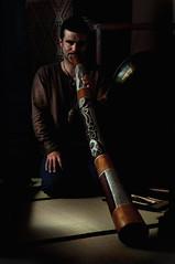Musician III (irfan cheema...) Tags: portrait music man musicians beard french sitting band musical instrument musicalinstrument ethnic chiaroscuro didgeridoo renaud aborginal australin irfancheema