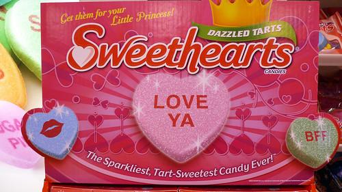 NECCO Dazzled Tarts Sweethearts