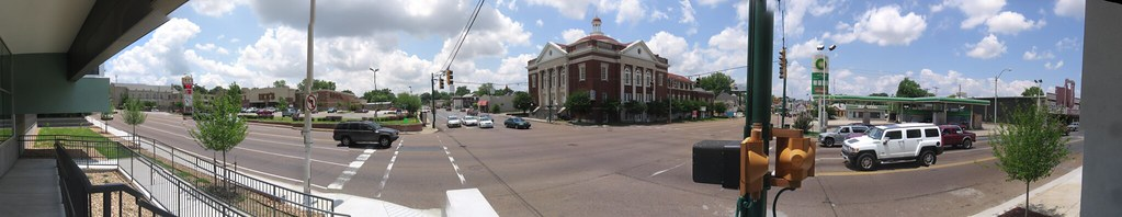 Union Avenue Methodist Church Panorama