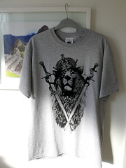AnyForty T-shirt with illustration by MegaMunden (AmmoMagazine) Tags: tshirt tee anyforty olliemunden megamunden