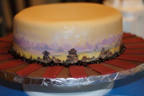 Kung Fu Panda CakePainting0005