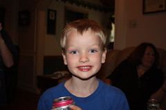 Enjoying a Soda