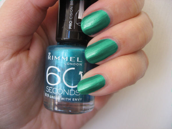 rimmel_819_green_with_envy colour