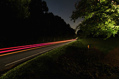Beatties Ford Southbounder (hpaton1) Tags: cars night lighttrails nightdriving huntersvillenc canoneos7d tokina1116mmf28