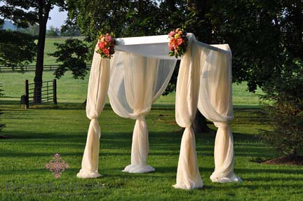 Chuppah at Whitehall Manor Wedding