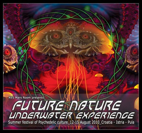 Future Nature 2010 - Underwater Experience trance psy festival