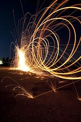 Light my fire (Julien Ratel ( Jll Jnsson )) Tags: lighting longexposure nightphotography light lightpainting france night mo