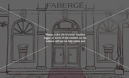 Faberge Resolution Fail