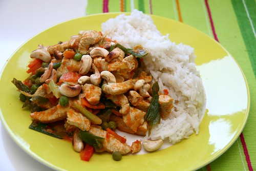 Asian: Turkey, Vegetables & Rice