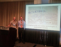 Susan and Erik at EDUCAUSE Southeast