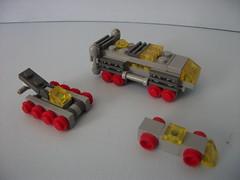 Ground fleet (The Legonator) Tags: lego microscale classicspace