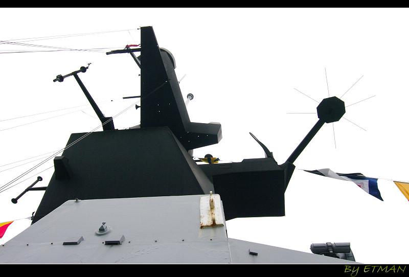 基隆敦睦艦隊之 班超艦蹲完 拉法葉艦蹲