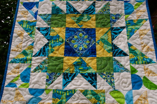 Quilted and bound