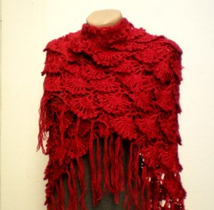 Crochet Shawl Shrug Wrap (crochetbutterfly) Tags: crochet wrap mohair shawl shrug