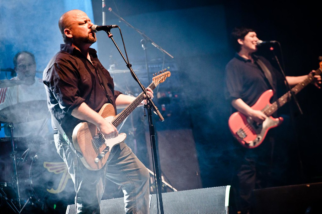 Pixies live at Troxy cakes