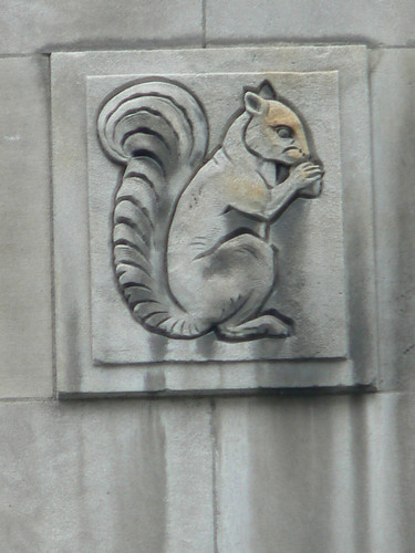 Holt Renfrew Squirrel, Montreal