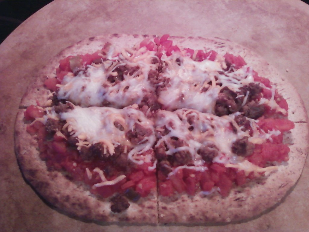 HG's Spicy Mexican Pizza
