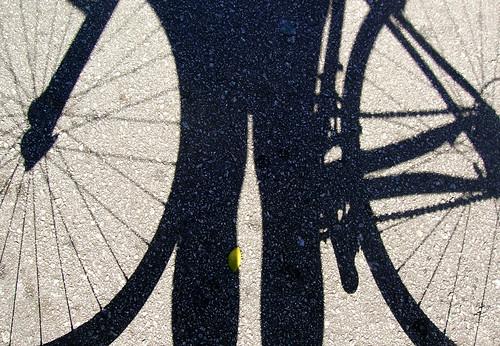 Eu vou de bike...