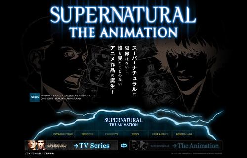 100610(3) - 知名科幻恐怖影集《Supernatural 超自然檔案》將從2011年1/12起,陸續推出日本動畫版<第一季>全22話!