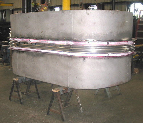 "Three 12′- 0"" x 8′- 0"" Rectangular Expansion Joints with Full Radius Corners for a Chemical Plant in Texas"