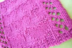 Innocence (gr00vy) Tags: hearts knitting pattern handmade craft dishcloth fiber washcloth