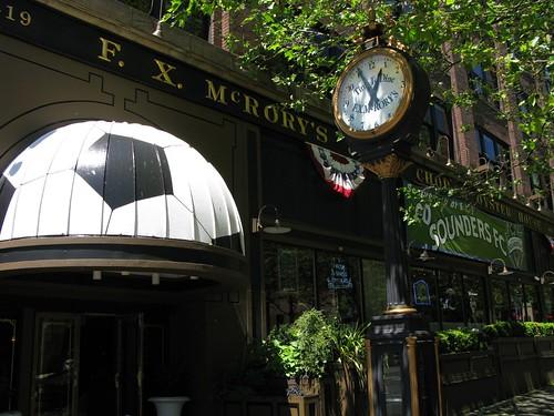 F. X. McRory's Street Clock