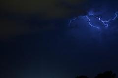 Thunderstorm over Kraków