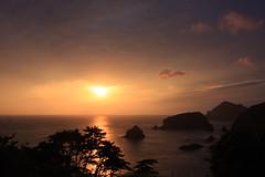 Izu's West Coast Sunset