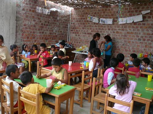 Unterricht im Casa Daniela