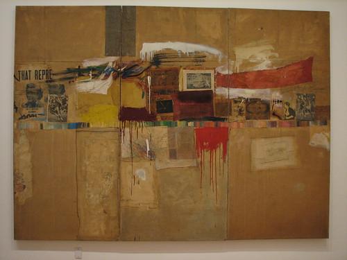 Robert Rauschenberg Rebus (1955, MoMA)