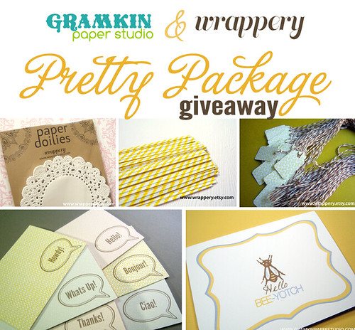 Gramkin Paper Studio & Wrappery Giveaway
