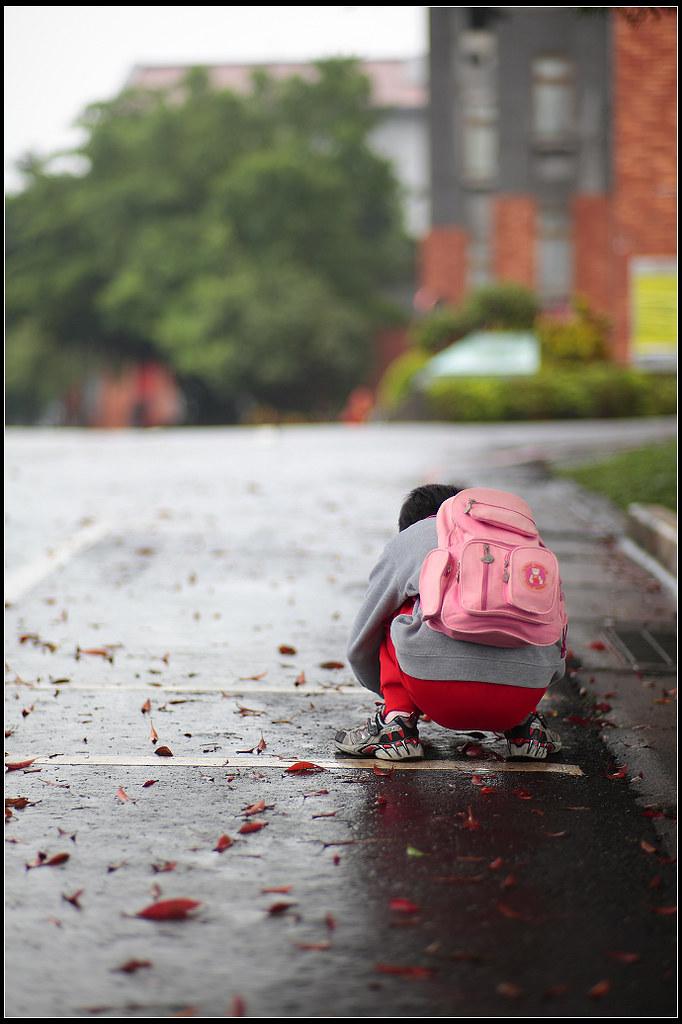 瘋狂攝影團...北藝大雨中遊