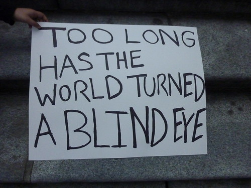 Too long has the world turned a blind eye