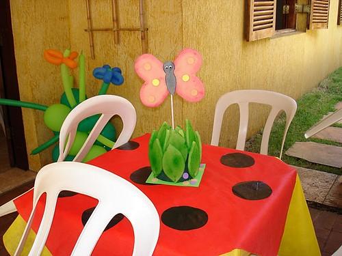 enfeite de mesa festa infantil