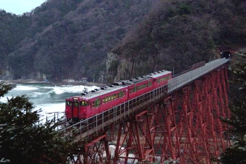あの余部鉄橋,あと1ヶ月で引退
