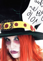 Mad Hatter (Iaia***) Tags: selfportrait nikon mask autoritratto mad wonderland autoscatto hatter maschere d90 cappellaio