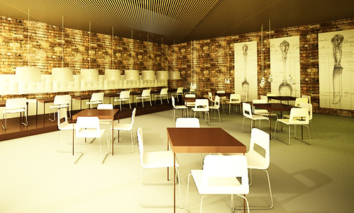 Iva Y: Project: Cafe interior design
