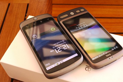 HTC Desire & Nexus One