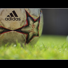 FEVER PITCH (Gareth Smith) Tags: england game grass ball football bokeh soccer pitch adidas fever project365 worldcup2010 olympuse600