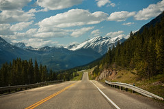 Going to a happy place (JoLoLog) Tags: canada mountains alberta rockymountains lorien happyplace kananaskiscountry thecanadianrockies canonxsi highway40goingnorth