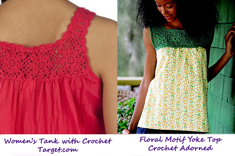 Buy or DIY w/crochet adorned