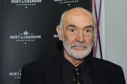 Sir Sean Connery at the opening night party