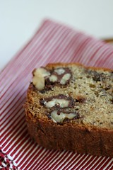 Chocolate-Covered Walnut Banana Bread